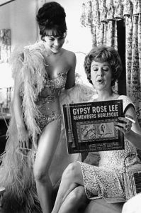 Natalie Wood e Gypsy Rose Lee